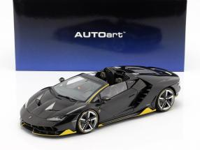 Lamborghini Centenario Roadster year 2016 clear carbon / yellow 1:18 AUTOart