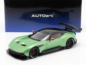 Aston Martin Vulcan year 2015 apple tree green metallic 1:18 AUTOart