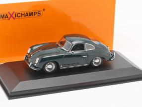 Porsche 356 A coupe year 1959 dark green 1:43 Minichamps