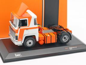 Scania LBT 141 Truck year 1976 orange / white 1:43 Ixo