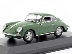 Porsche 356 C Carrera 2 year 1963 dark green 1:43 Minichamps