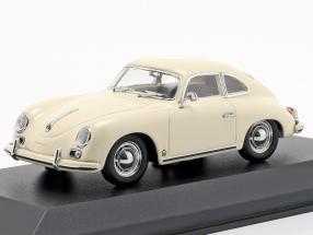 Porsche 356 A coupe year 1959 cream white 1:43 Minichamps