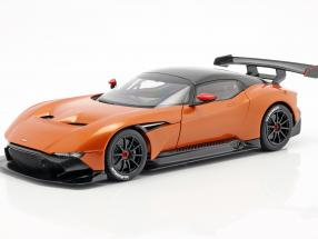 Aston Martin Vulcan year 2015 madagascar orange 1:18 AUTOart
