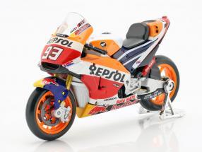Marc Marquez Honda RC213V #93 MotoGP Champion 2018 1:18 Maisto