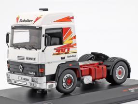 Renault R310 Turboliner Truck year 1986 white / red 1:43 Ixo