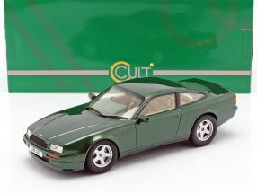 Aston Martin Vantage year 1988 dark green metallic 1:18 Cult Scale