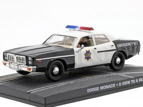 Dodge Monaco Police Car James Bond movie The Living Daylights 1:43 Ixo