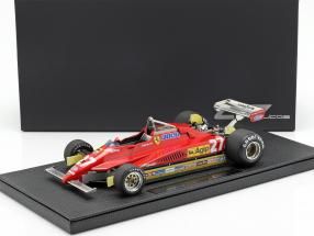 Gilles Villeneuve Ferrari 126C2 #27 formula 1 1982 1:18 GP Replicas