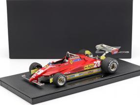 Didier Pironi Ferrari 126C2 #28 formula 1 1982 1:18 GP Replicas