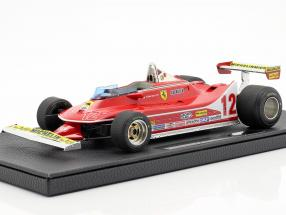G. Villeneuve Ferrari 312T4 #12 2nd French GP F1 1979 1:18 GP Replicas