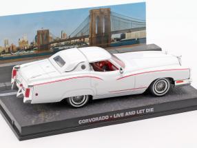Corvorado James Bond Movie Car live and let die white 1:43 Ixo