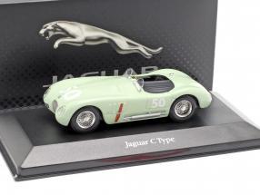Jaguar C-Type #50 GP Reims 1952 Stirling Moss 1:43 Atlas