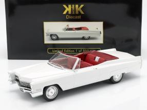 Cadillac DeVille Convertible year 1968 white 1:18 KK-Scale