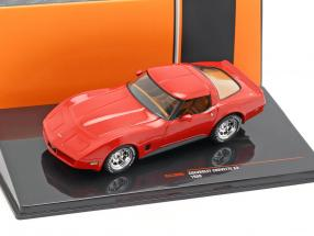 Chevrolet Corvette C3 year 1980 red 1:43 Ixo