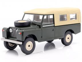 Land Rover Series II 109 year 1959 dark green / beige 1:18 Model Car Group