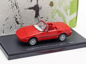Mazda MX-S Miata Concept Duo 101 V705 1984 red 1:43 AutoCult
