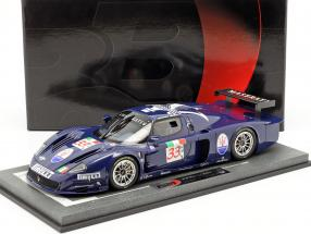 Maserati MC12 Competizione #33 Winner FIA GT Zhuhai 2004 With Showcase 1:18 BBR