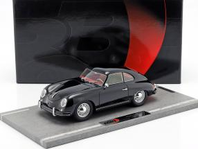 Porsche 356A year 1955 black 1:18 BBR