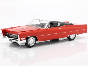 Cadillac DeVille Convertible year 1968 red 1:18 KK-Scale