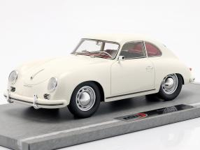 Porsche 356A year 1955 white 1:18 BBR