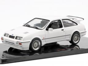 Ford Sierra RS Cosworth year 1987 white 1:43 Ixo