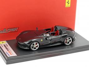 Ferrari Monza SP2 year 2018 DS black 1:43 LookSmart