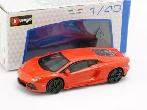 Lamborghini Aventador LP700-4 Orange 1:43 Bburago