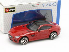 Mercedes-Benz AMG GT red / black 1:43 Bburago
