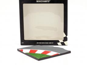 Race Track Moto GP Bikes Curve 90 degrees 1:12 Minichamps
