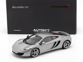 McLaren MP4-12C Year 2011 silver 1:18 AUTOart