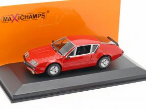 Renault Alpine A310 year 1976 red 1:43 Minichamps