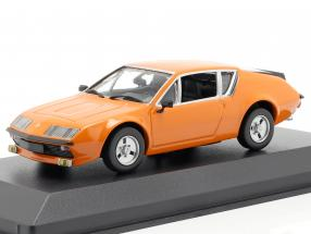 Renault Alpine A310 year 1976 orange 1:43 Minichamps