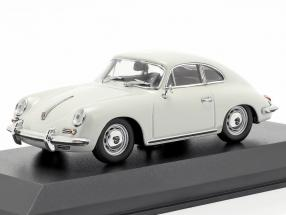 Porsche 356 B coupe year 1961 grey 1:43 Minichamps