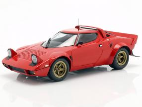 Lancia Stratos year 1974 red 1:18 Minichamps