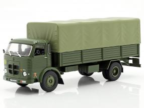 Pegaso Comet 1100L military year 1963 olive green 1:43 Altaya