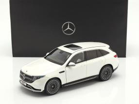 Mercedes-Benz EQC 4Matic (N293) year 2019 diamond white 1:18 NZG