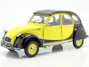 Citroen 2CV Charleston year 1982 yellow / black 1:8 Premium X