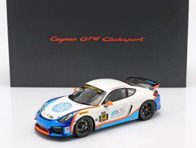Porsche Cayman GT4 Clubsport #64 TGM Giovanis, Cosmo with showcase 1:18 Spark