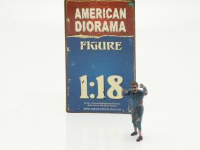 Zombie mechanic II figure 1:18 American Diorama