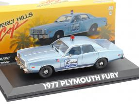 Plymouth Fury Detroit Police 1977 Movie Beverly Hills Cop (1984) 1:43 Greenlight