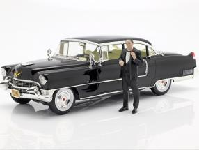 Cadillac Fleetwood Series 60 1955 Movie The Godfather with figure 1:18 Greenlight
