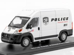 RAM ProMaster 2500 Cargo van Police Transport 2018 white 1:43 Greenlight
