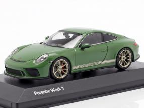 Porsche 911 (991 II) GT3 Touring Package plant 1 auratium green 1:43 Minichamps