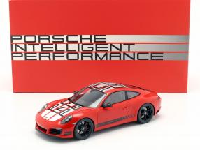 Porsche 911 (991) Carrera S Endurance Racing Edition 2016 red with showcase 1:18 Spark