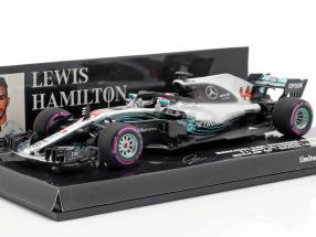 L. Hamilton Mercedes-AMG F1 W09 #44 World Champion Mexico GP F1 2018 1:43 Minichamps