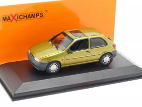 Ford Fiesta year 1995 gold metallic 1:43 Minichamps