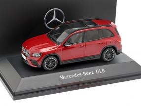 Mercedes-Benz GLB (X247) year 2019 designo patagonia red bright 1:43 Spark