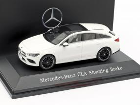 Mercedes-Benz CLA Shooting Brake (X118) year 2019 polar white 1:43 Spark