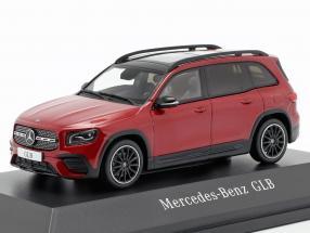 Mercedes-Benz GLB (X247) year 2019 designo patagonia red bright 1:43 Spark