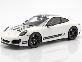 Porsche 911 (991) Carrera S Endurance Racing Edition 2016 white with showcase 1:18 Spark